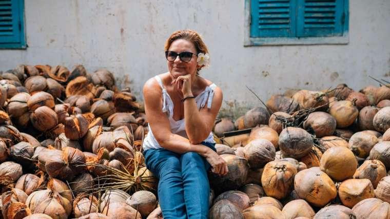 Azja o smaku kokosa