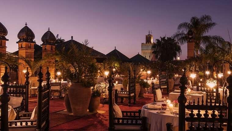 Maroko ***** Luksus w samym sercu Marrakechu